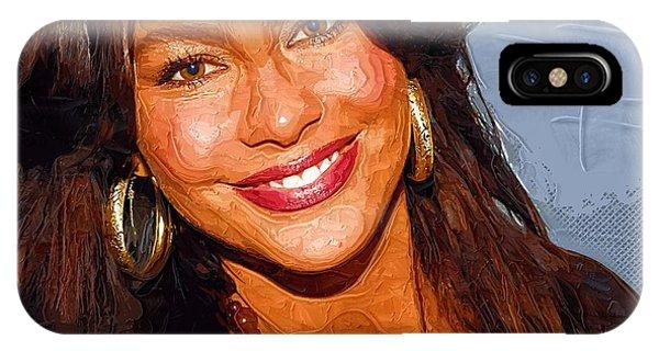 Shakira iPhone Case - Sofia Vergara Art Print by Elizabeth Simon