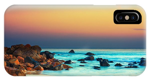 Water iPhone Case - Sunset by MotHaiBaPhoto Prints