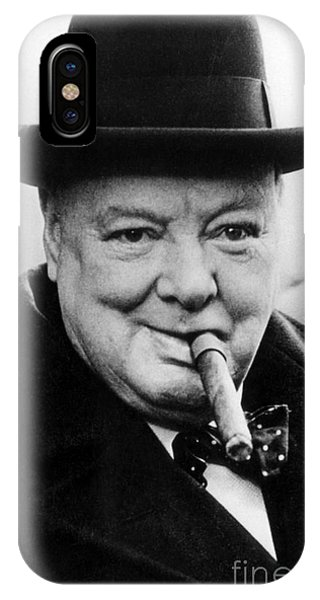 Prime Minister iPhone Case - Winston Churchill by English School