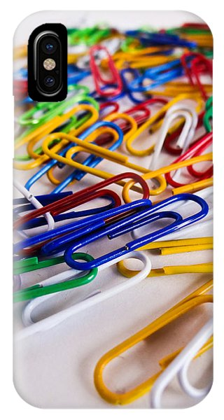 100 Paperclips IPhone Case