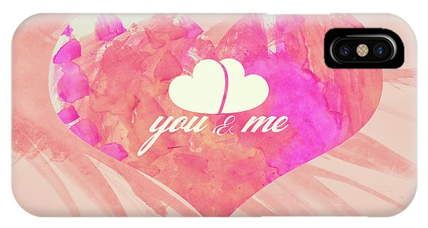 10183 You And Me IPhone Case