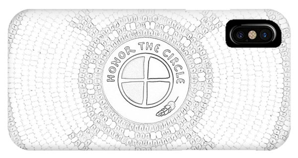 102007- Honor_the_circle IPhone Case
