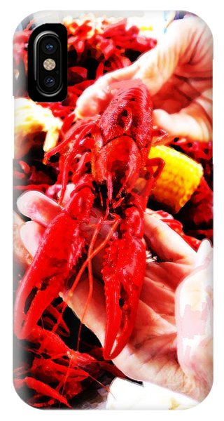 102715 Louisiana Lobster IPhone Case