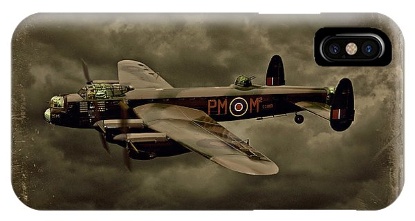 103 Squadron Avro Lancaster IPhone Case
