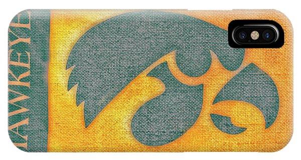 10720  Iowa Hawkeye IPhone Case