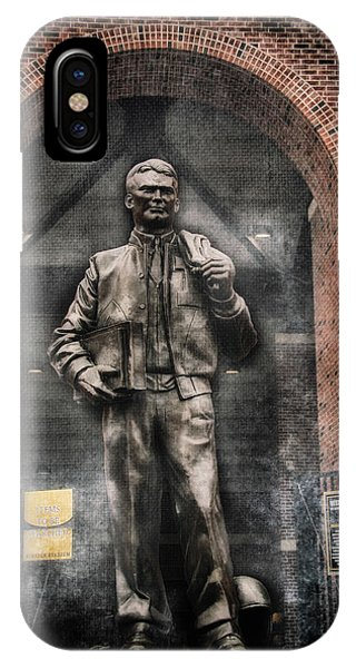 10726 Kinnick Statue IPhone Case