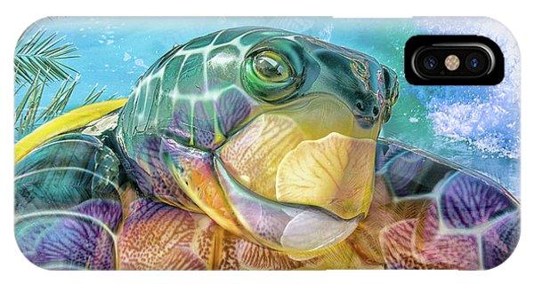 10730 Mr Tortoise IPhone Case