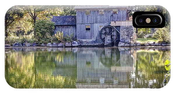 Rockford iPhone Case - 1080 Midway Village Millhouse by Steve Sturgill