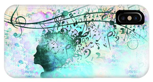10846 Melodic Dreams IPhone Case