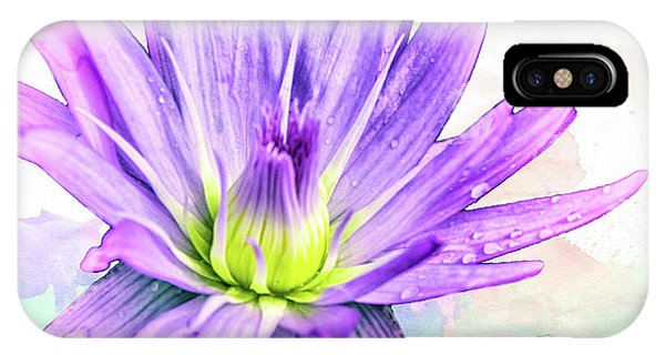 10889 Purple Lily IPhone Case