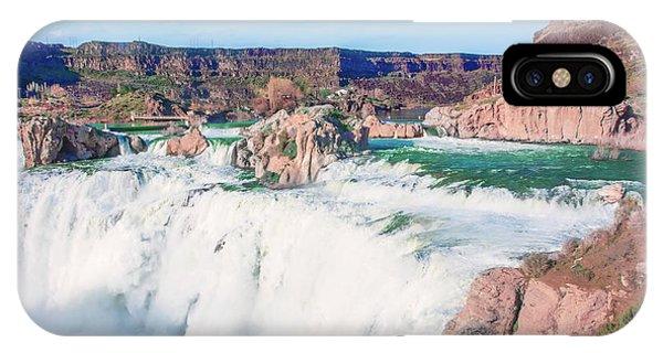 10917 Shoshone Falls IPhone Case