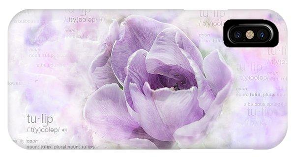 10947 Tulip IPhone Case