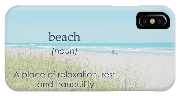 10967 Beach Tranquility IPhone Case