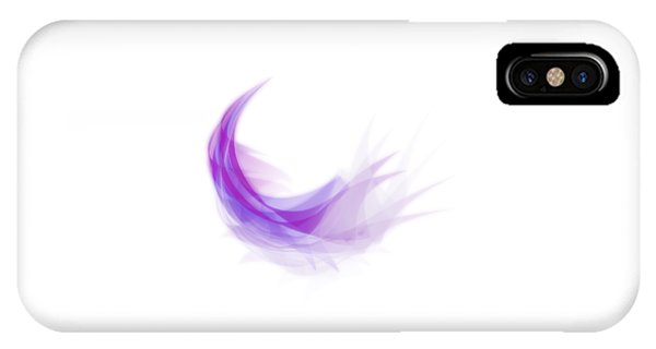 Astral iPhone Case - Abstract Feather by Setsiri Silapasuwanchai