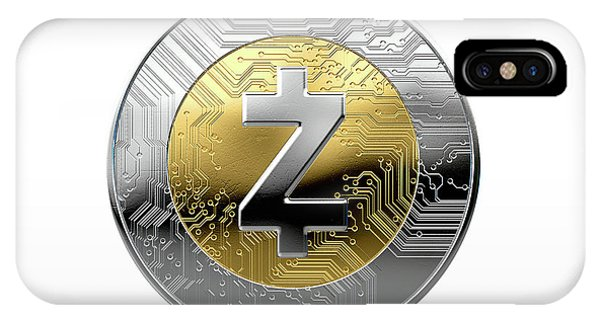 Cryptocurrency Physical Coin IPhone Case