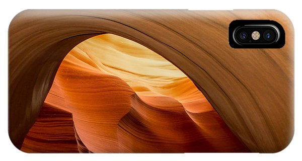 Lower Antelope Canyon Navajo Tribal Park #12 IPhone Case