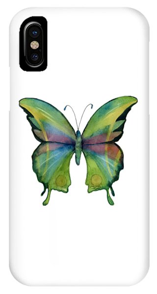 11 Prism Butterfly IPhone Case