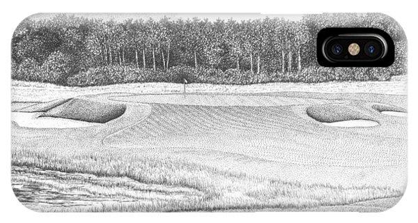 11th Hole - Trump National Golf Club IPhone Case