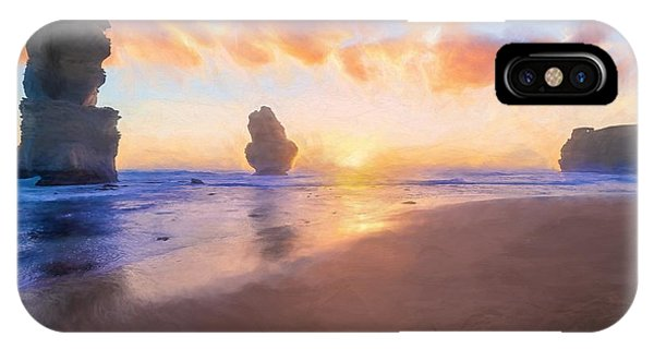 12 Apostles With Marshmallow Skies    Og IPhone Case