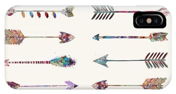 Native iPhone Case - 12 Arrows by Bri Buckley