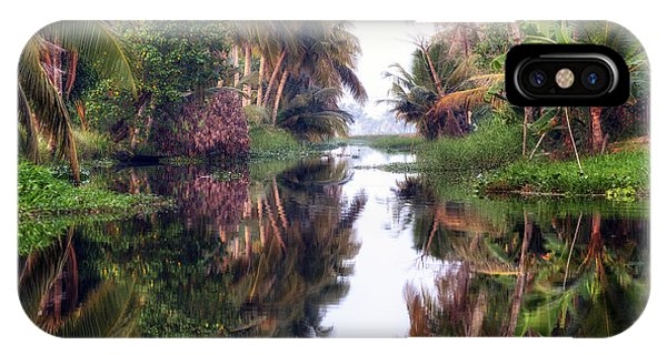 Kerala iPhone Case - Backwaters Kerala - India by Joana Kruse