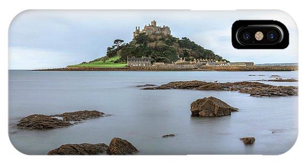 Tidal iPhone Case - St Michael's Mount - Cornwall by Joana Kruse