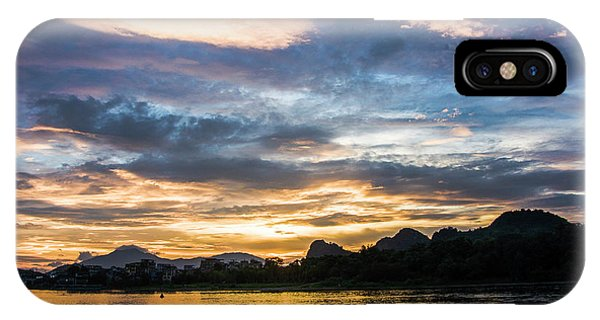 IPhone Case featuring the photograph Sunrise Scenery In The Morning by Carl Ning