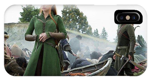 Orlando Bloom iPhone Case - The Hobbit by Naveen Sharma