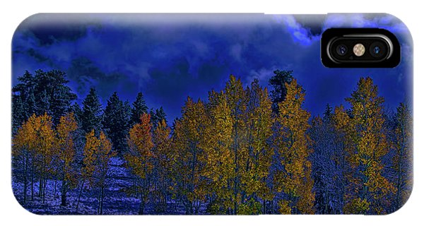 Rocky Mountain Fall IPhone Case