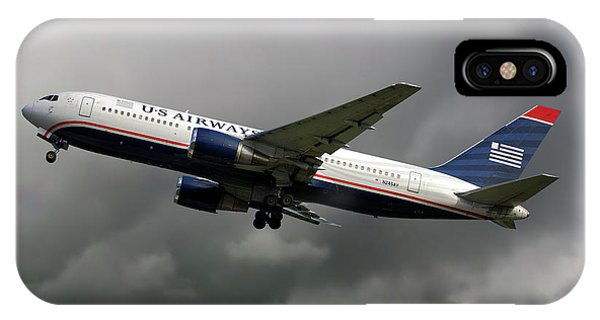 Airline iPhone Case - American Airlines Boeing 767-200 by Smart Aviation