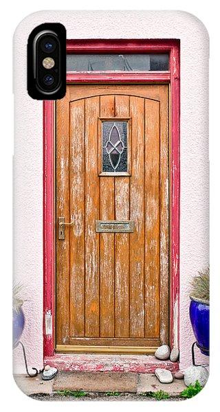 Beautiful Scotland iPhone Case - Front Door by Tom Gowanlock