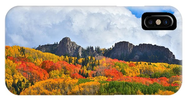Kebler Pass Fall Colors IPhone Case