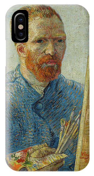 Van Gogh Museum iPhone Case - Self-portrait With Straw Hat by Vincent van Gogh