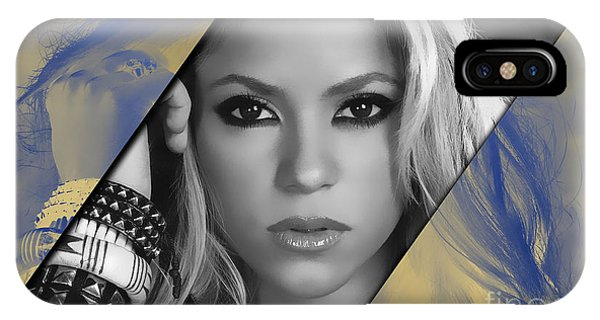 Shakira iPhone Case - Shakira Collection by Marvin Blaine