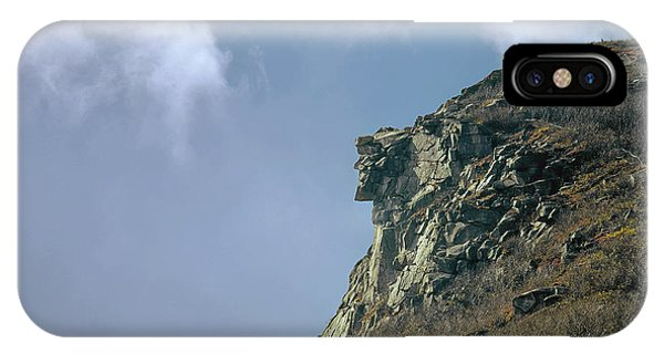 IPhone Case featuring the photograph 135701 Old Man Of The Mountain Nh by Ed Cooper Photography