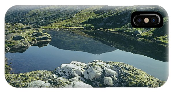 IPhone Case featuring the photograph 135708 Lake Of The Clouds Nh by Ed Cooper Photography