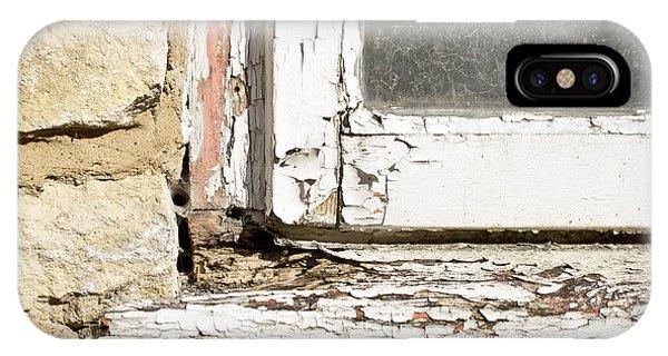 Old Window IPhone Case