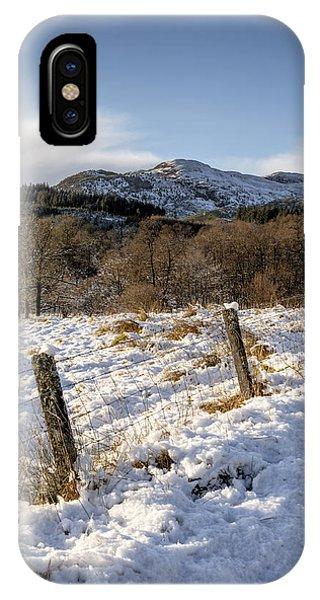 Trossachs Scenery In Scotland IPhone Case