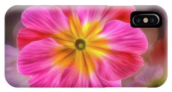 Pink Primrose #1 IPhone Case