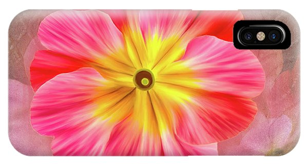 Pink Primrose #2 IPhone Case