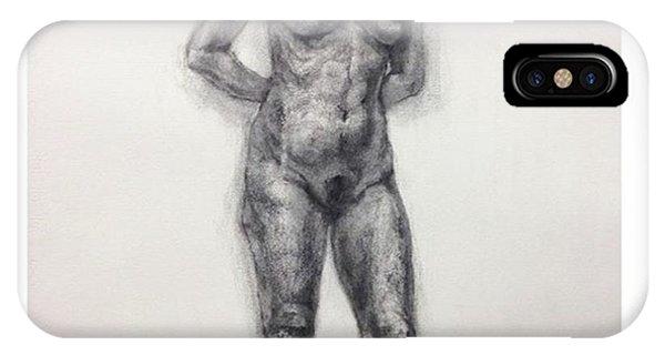 Watercolor iPhone Case - Figure by Naoki Suzuka