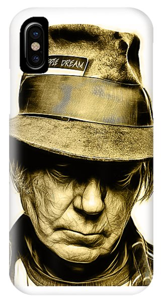 Neil Young iPhone Case - Neil Young Collection by Marvin Blaine
