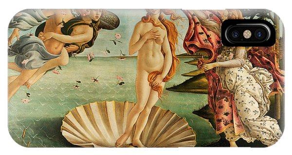 Botticelli iPhone Case - The Birth Of Venus by Sandro Botticelli