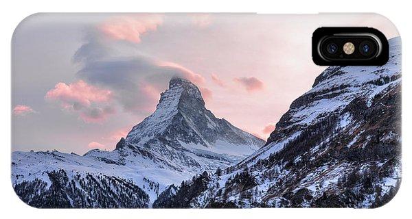 Spring Mountains iPhone Case - Zermatt - Switzerland by Joana Kruse