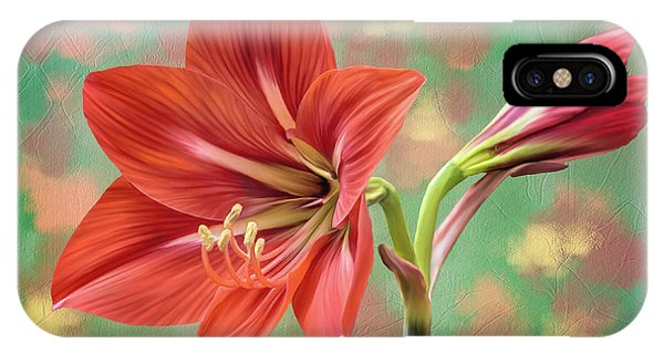 Amaryllis #1 IPhone Case