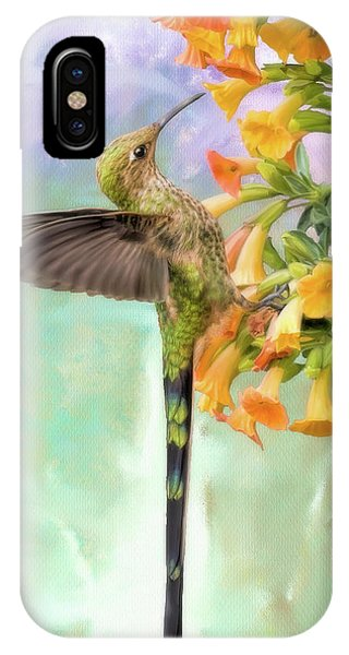 Black Tailed Trainbearer IPhone Case