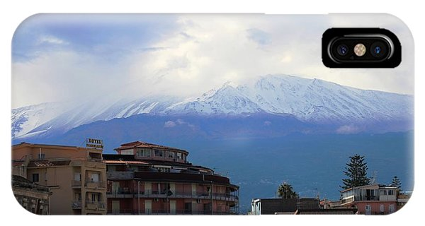 Mt Etna iPhone Case - Sicily by Donn Ingemie