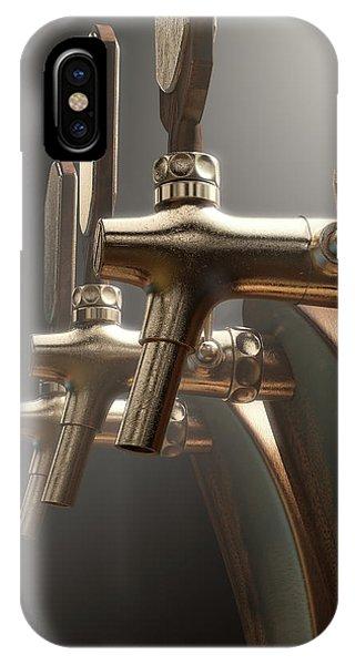 Dispenser iPhone Case - Beer Tap by Allan Swart
