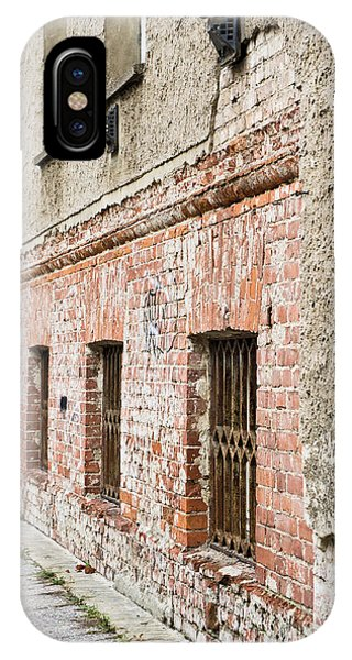 Dungeon iPhone Case - Derelict Building by Tom Gowanlock