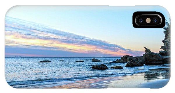 Rocky Daybreak Seascape IPhone Case